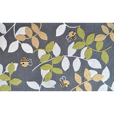 The Rug Market Bumble Bee Children's Area Rug, 2.8' X 4.8 by The Rug Market