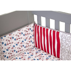 Trend Lab Dr. Seuss Cat and Things Crib Bumpers [並行輸入品]