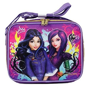 Disney Descendants Cartoon Evie and Mal Insulated Lunch Bag for Girls by Disney