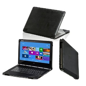 "Navitech London PCタブレット用ケース Dell XPS 13.3"" 2015/  Lenovo Yoga 3 (11 inch) / Samsung Ativ Book 9 12..."
