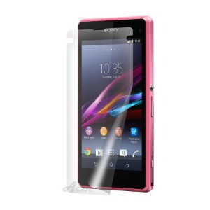Acase Xperia Z1 compact フィルム スクリーンプロテクター for Xperia Z1 compact アンチグレア タイプ ( 保護フィルム 3枚入り )