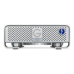 G-Technology 4TB G-DRIVE with Thunderbolt 2/USB 3.0 外付けハードドライブ アルミニウム Apple iMac MacBook TimeMachine...