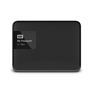 WESTERNDIGITAL ウエスタンデジタルポータブルHDD WD My Passport for Mac 1TB Portable External Hard Drive Storage...