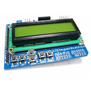 LCD1602 Keypad Shield V2.0 for Arduino Controller/ロボットの部品/ロボットのコントローラ/人工知能