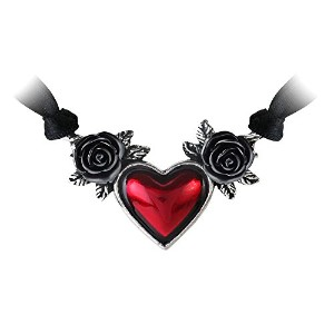 Bloodハートネックレスby Alchemy Gothic , England [ジュエリー]