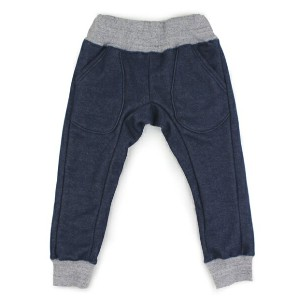 【セール OFFICIAL TEAM オフィシャルチーム】WARM DENIM JOGGERS PANTS(110)