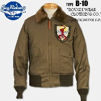 "BUZZ RICKSON'S(バズリクソン)B-10 フライトジャケット【BR13614 typeB-10】""ROUGH WEAR CLOTHING CD.""23rd FIGHTERGP."