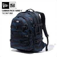 NEW ERA newera ニューエラ リュック バックパック キャリアパック CARRIER PACK 900D 2 TSC NVY BLK バッグ カバン 【クエストン】