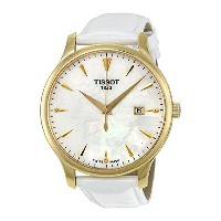 ティソ Tissot 腕時計 メンズ 時計 Tissot Tradition Leather Ladies Watch T0636103611600