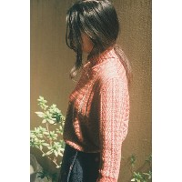"rikolekt | ""nostalgia"" SWEATER(orange)Sサイズ 