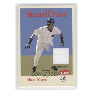 MLB ヤンキース 松井秀喜 ジャージ カード 2005 Fleer Tradition Stand Outs Jersey フレア/Fleer