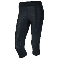 ナイキ レディース フィットネス スポーツ Women's Nike Dri-FIT Power Speed Capris Black/Reflective Silver