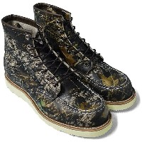 """RED WING レッドウィング カモフラ Classic Work 6"""" Moc-toe Camouflage 8884"""