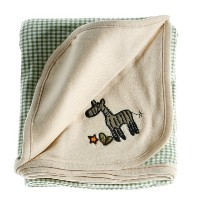 Anna Claire Beautiful Designed Baby Receiving Blanket, Double Sided Designs, Swaddle Blankets ...
