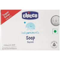 Chicco Baby Moments Soap pack of 3(300gm)