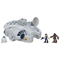 STAR WARS B3816EU40 Playskool Galactic Heroes Millennium Falcon and Figures by Star Wars