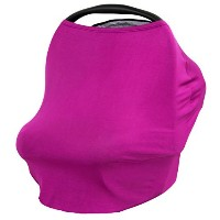 JLIKA Baby Car Seat Covers - Stretchy Infant Canopy and Nursing cover for breastfeeding newborns...