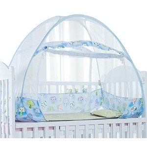Sinotop Foldable Baby Bed Mosquito Net Tent Kids Nursery Crib Canopy Netting (1207085cm) by Sinotop