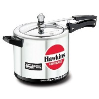 Hawkins Hevibase IH65 6.5-Litre Induction Pressure Cooker, Small, Silver by Hawkins Hevibase [並行輸入品]