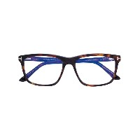 Tom Ford Eyewear - 054 Blue Control 眼鏡フレーム - men - アセテート - 56