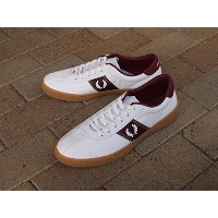 【FRED PERRY 】【フレッドペリー】 Fred Perry Sports Authentic Tennis Shoe 1 Canvas キャンバステニスシューズ B102-808 SNOW...
