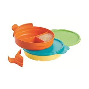 Tupperware Divided Dish Feeding Set for Babies by Tupperware