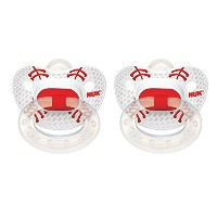 NUK Sports Puller Pacifier in Assorted Colors and Styles, 18-36 Months by NUK