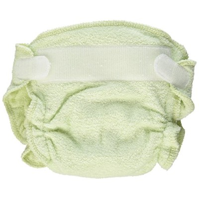 Imagine Baby Products Newborn Fitted Rayon From Bamboo Hook and Loop Diaper, Emerald by Imagine...