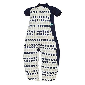 ergoPouch ErgoCocoon 1.0 TOG Swaddle and Sleep Bag, Navy Paint, 0-3 Months by Ergo Pouch