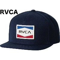 RVCA Nations Snapback Hat Cap Navy キャップ 並行輸入品