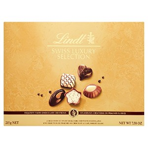 Lindt Swiss Luxury Chocolate Selection 215 g
