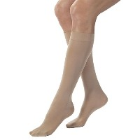 Jobst 115212 Opaque Knee Highs 15-20 mmHg - Size & Color- Natural Small