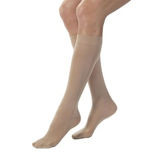 Jobst 15-20mmHg Opaque Knee High Natural Large - 115214 by Jobst