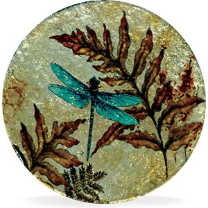 AngelStar 19168 Dragonfly Spirit Coasters ( Set of 4 )、4 ""