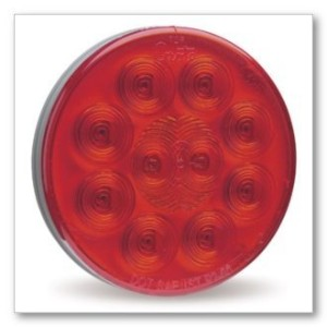 Grote 53532 SuperNova 4' 10-Diode Pattern LED Stop Tail Turn Lights (Hard-Wired, Hard-Wired,...