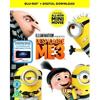 Despicable Me 3 (2D BD + digital download) [Blu-ray] [2017] - UK.