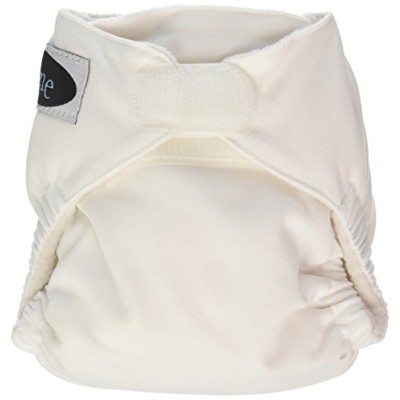 Imagine Baby Products Newborn Stay Dry All-In-One Hook and Loop Cloth Diaper, Snow by Imagine Baby...