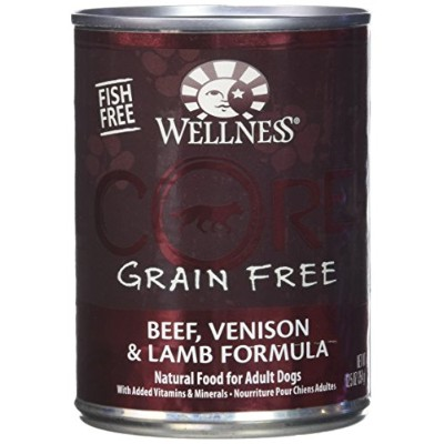Wellness Wlns Core Dog Red Meat 12.5 oz by Wellness Natural Pet Food