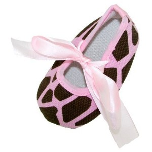 CHUBBY FOOTIQUE Baby Pre-Walker Crib Shoes With Satin Ribbon Ties And A Headband To Match 9 - 12...
