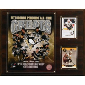 NHL Pittsburgh Penguins all-time GreatsフォトPlaque