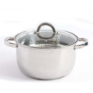 Oster sangerfiled 6qtアルミDutch Oven with Steamerバスケット