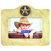 Pinnacle Rustic Limestone Star Photo Frame by Pinnacle Frame [並行輸入品]