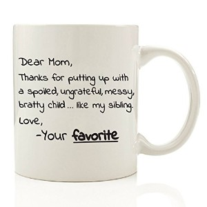 Got Me Tipsy Dear Mom、Thanks for putting up with my兄弟 – Funny Coffee Mug – 誕生日ギフトのアイデアMom、女性のためのギフト...