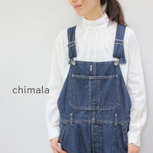 chimala(チマラ)11OZ CARPENTER SELVEDGE DENIMOVERALLmade in japancs24-wp09a