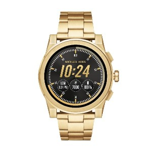メンズ MICHAEL KORS ACCESS Grayson Touchscreen Smartwatch スマートウォッチ ゴールド