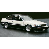 1/43 Toyota Corolla Levin (AE86) 2Door GT Apex White /Black【IG0465】 ignitionモデル [ignition IG0465...