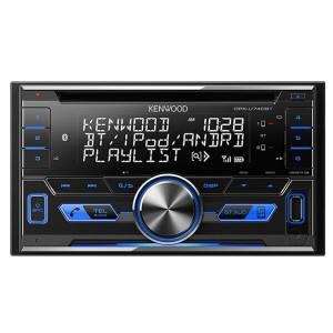 ケンウッド CD/USB/iPod/Bluetoothレシーバー DPX-U740BT