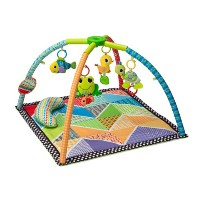 Infantino Pond Pals Twist and Fold Activity Gym and Play Mat by Infantino [並行輸入品]