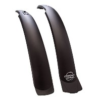 Planet Bike Clip-On Front and Rear Bike Fender Set (ATB) by Planet Bike