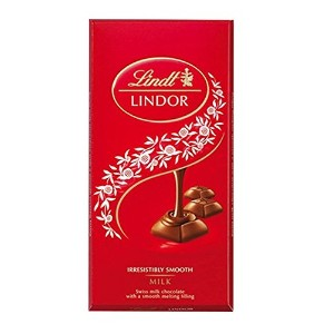 Lindt Lindor Truffle Milk Chocolate Bar, 3.5-Ounce Bars (Pack of 12) by Lindt